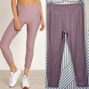 Varley Everett Sculpting Tight Leggings in Mauve